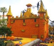 Magisch kasteel Stock Afbeeldingen