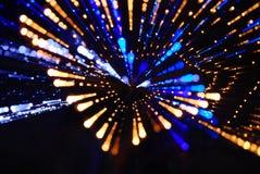 Magisch licht Royalty-vrije Stock Afbeeldingen