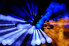 Magisch licht Stock Afbeeldingen