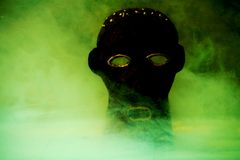 Magisch masker Royalty-vrije Stock Foto's