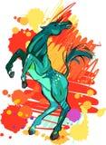 Magisch Paard royalty-vrije illustratie
