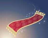 Magisch tapijt Royalty-vrije Stock Fotografie