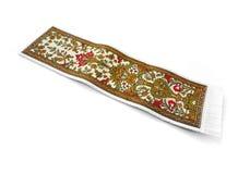 Magisch tapijt dat op wit wordt geïsoleerde Royalty-vrije Stock Afbeeldingen