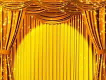 Magisch theater Royalty-vrije Stock Foto's