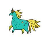 Magisch Unicorn Vector Royalty-vrije Stock Fotografie