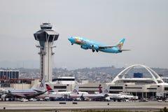 Magisch van Disneyland Boeing 737-400 stock foto