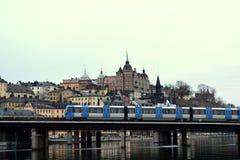 Magisch van Stockholm Stock Foto