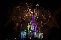 Magisch vuurwerk 2 van het Koninkrijk stock foto