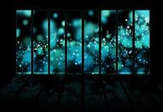 Magische abstracte achtergrond vector illustratie