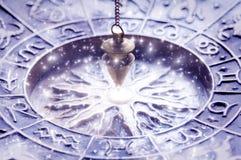 Magische astrologie Stock Foto