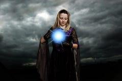 Magische atmosfeer Stock Foto's