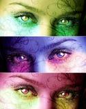 Magische Augen vektor abbildung