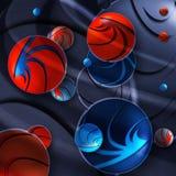 Magische bal vector illustratie