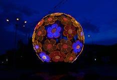 Magische bal op de straat royalty-vrije stock afbeelding