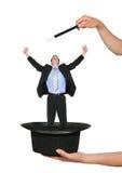 Magische BedrijfsMens Stock Foto's