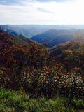 Magische Berge im Fall Lizenzfreie Stockbilder