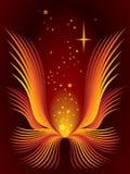 Magische bloem royalty-vrije illustratie