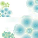 magische bloemachtergrond Royalty-vrije Stock Fotografie