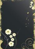 Magische bloemachtergrond Stock Fotografie