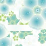 Magische bloemachtergrond. vector Royalty-vrije Stock Foto