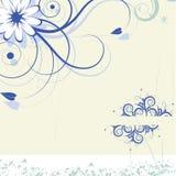 Magische bloemachtergrond. vector Stock Foto