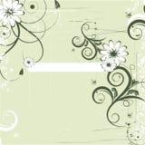Magische bloemachtergrond. vector Stock Fotografie