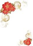 Magische bloemachtergrond. vector Royalty-vrije Stock Fotografie
