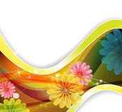 Magische bloemen Stock Foto's