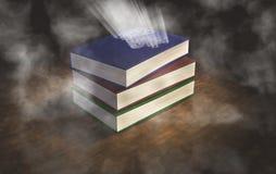 Magische boeken Stock Foto