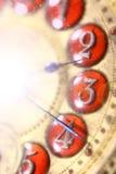 Magische Borduhr Stockbild