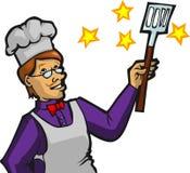 Magische Chef-kok Stock Afbeeldingen