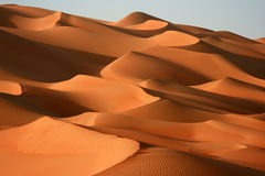 Magische Dünen des Unebenheit-Als Khali Lizenzfreies Stockbild