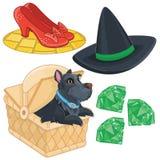 Magische Fairytale-Fantasie Vastgestelde Inzameling stock illustratie