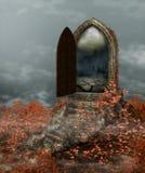 Magische Fantasiedeuropening stock foto's