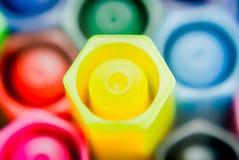 Magische Farbstifte Lizenzfreies Stockbild