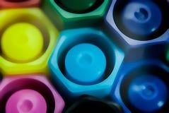 Magische Farbstifte Lizenzfreie Stockfotografie