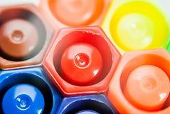 Magische Farbstifte Lizenzfreies Stockfoto