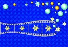 Magische filmstrook Stock Afbeelding