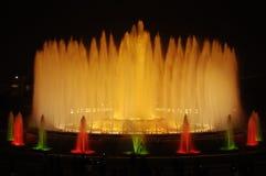 Magische fontein Royalty-vrije Stock Afbeelding