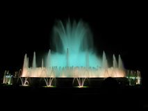 Magische fontein stock fotografie
