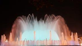 Magische Fontein Barcelona Royalty-vrije Stock Foto's