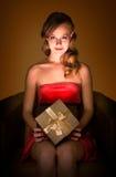 Magische gift. Royalty-vrije Stock Afbeeldingen