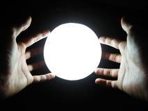 Magische Hände Stockfoto
