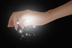 Magische Handen Stock Fotografie