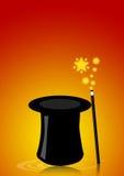 Magische hoed Royalty-vrije Stock Afbeeldingen
