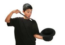 Magische Jongen Stock Fotografie