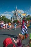 Magische Königreich-Parade Stockbild