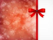 Magische Kerstkaart. Stock Foto's