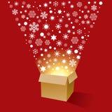Magische Kerstmis Royalty-vrije Stock Foto's