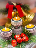Magische Kerstmis Stock Foto
